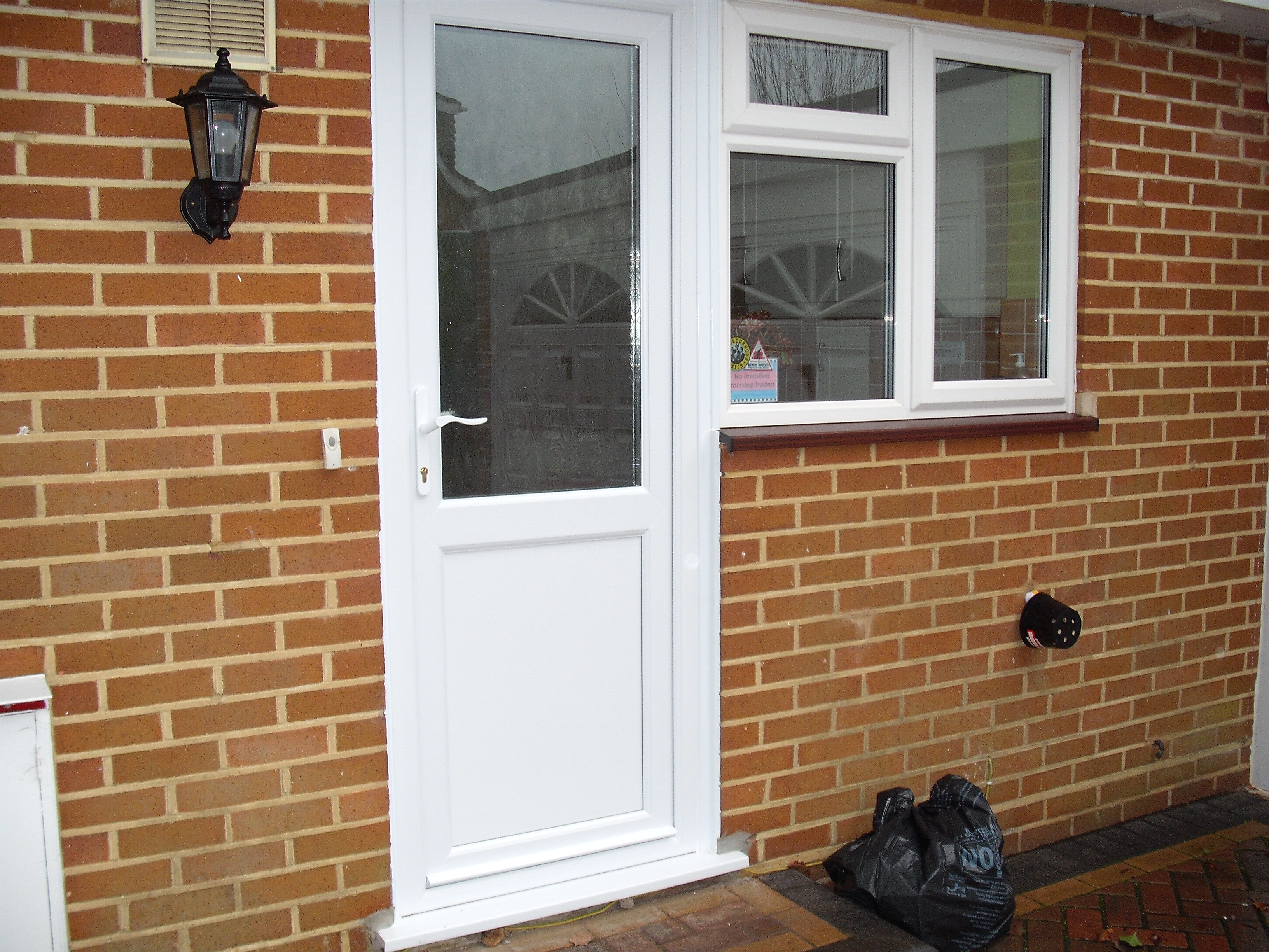 Back doors prices upvc back doors double glazing on for White back door